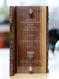 Chocolate Walnut Living Edge Award Award