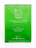 Recycled Emerald Glass Rectangle Award