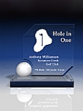 Hole in One Golf Trophy Award
