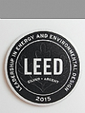 LEED Metal Plaque - Aluminum (Brushed) Award