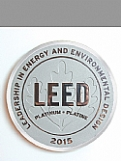 LEED Metal Plaque - Aluminum (Polished) Award