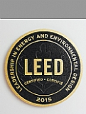 LEED Metal Plaque - Bronze (Brushed) Award