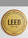 LEED Metal Plaque - Bronze (Polished) Award