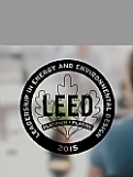 LEED Vinyl Decal - Black Award