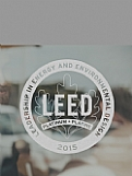 LEED Vinyl Decal - Frosted Award