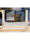 Panorama Plaque Award - Blueberry Pine (DXD) Award