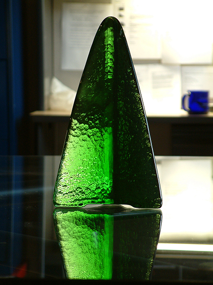 Emerald Tower Recycled Glass 6