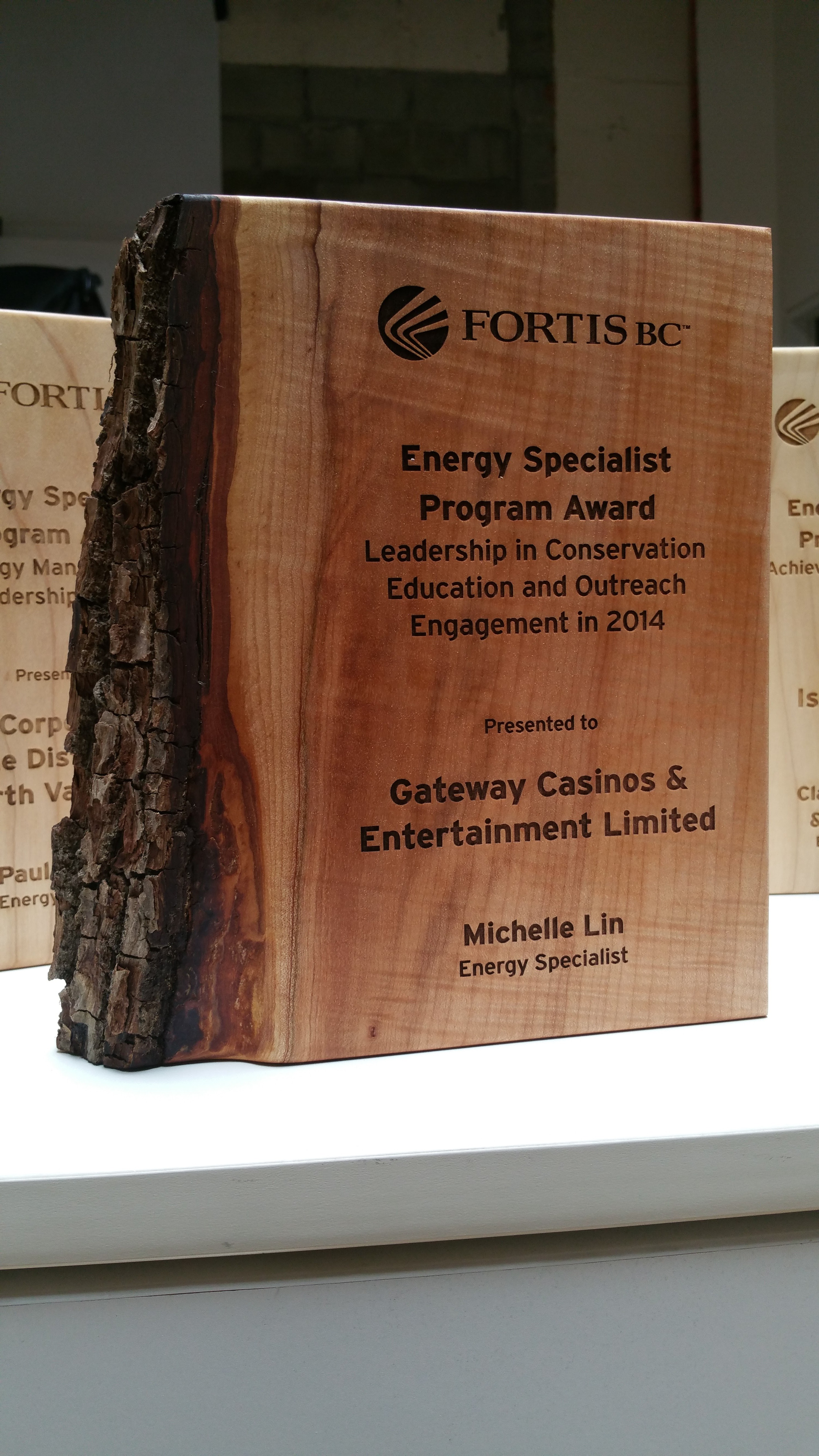 Fortis BC - Vancouver Award Potrait - award_program