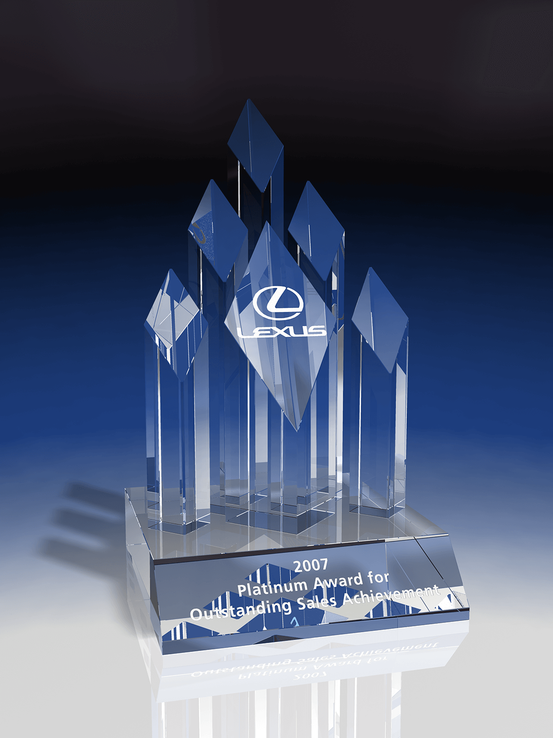 unique-premium-customized-crystal-award-trophy-corporate-appreciation-award-north-america_pinnacle