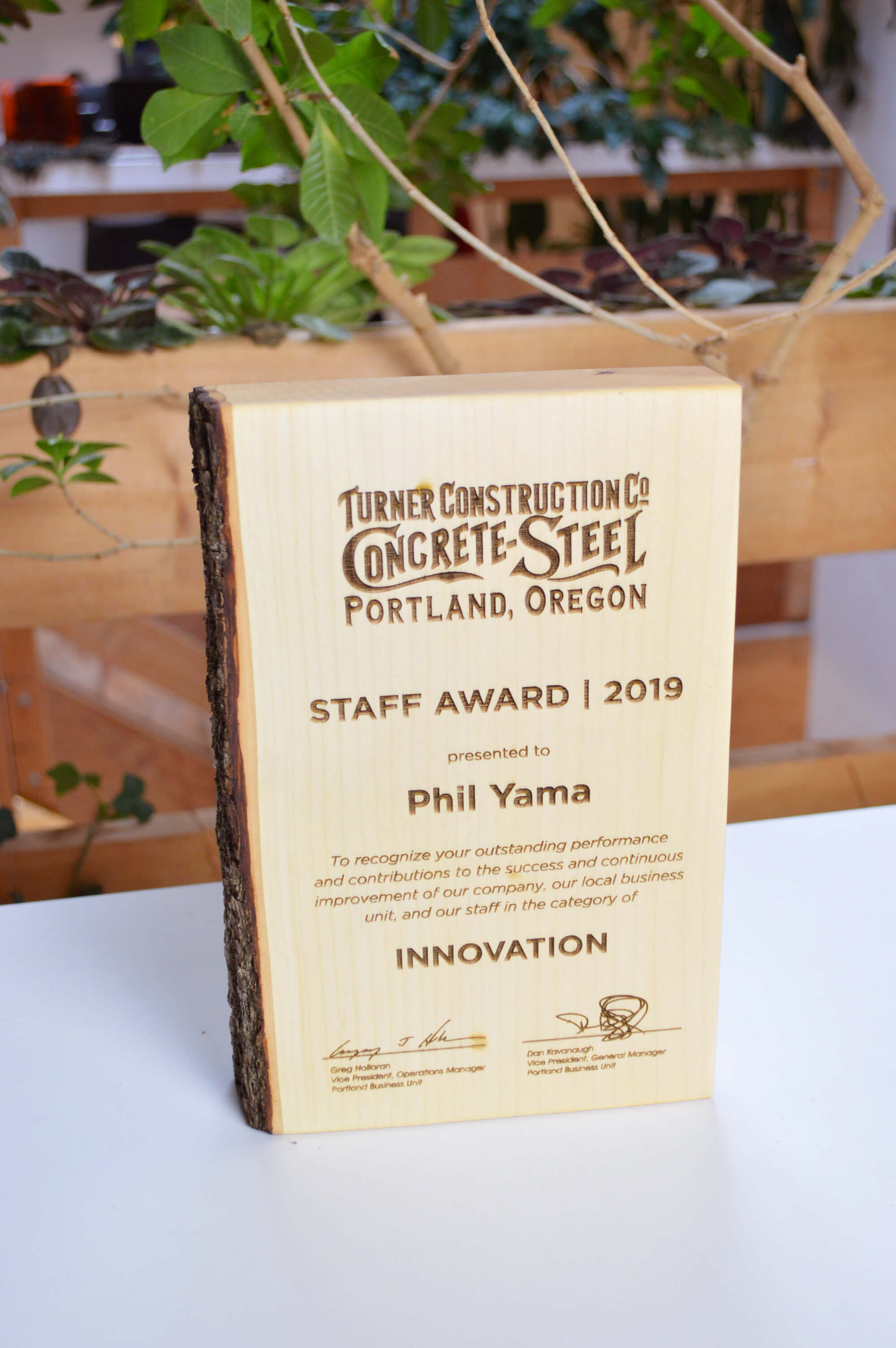 unique-sustainable-personalized-salvaged-wood-nonprofit-recognition-award_vancouver-trophy-shop-canada-8