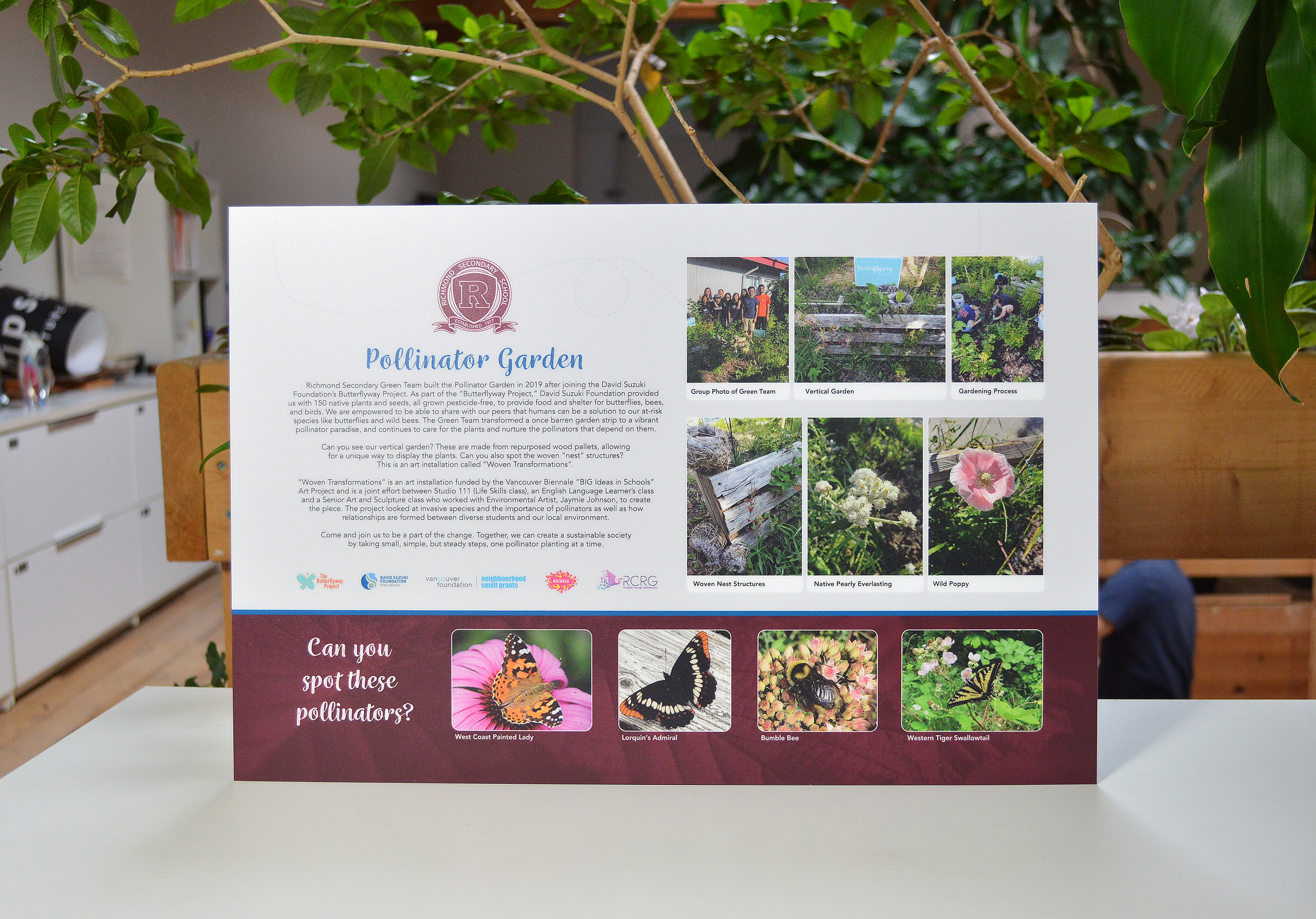 custom-award_personalized_outdoor-sign_full-colour-panel_butterfly-garden