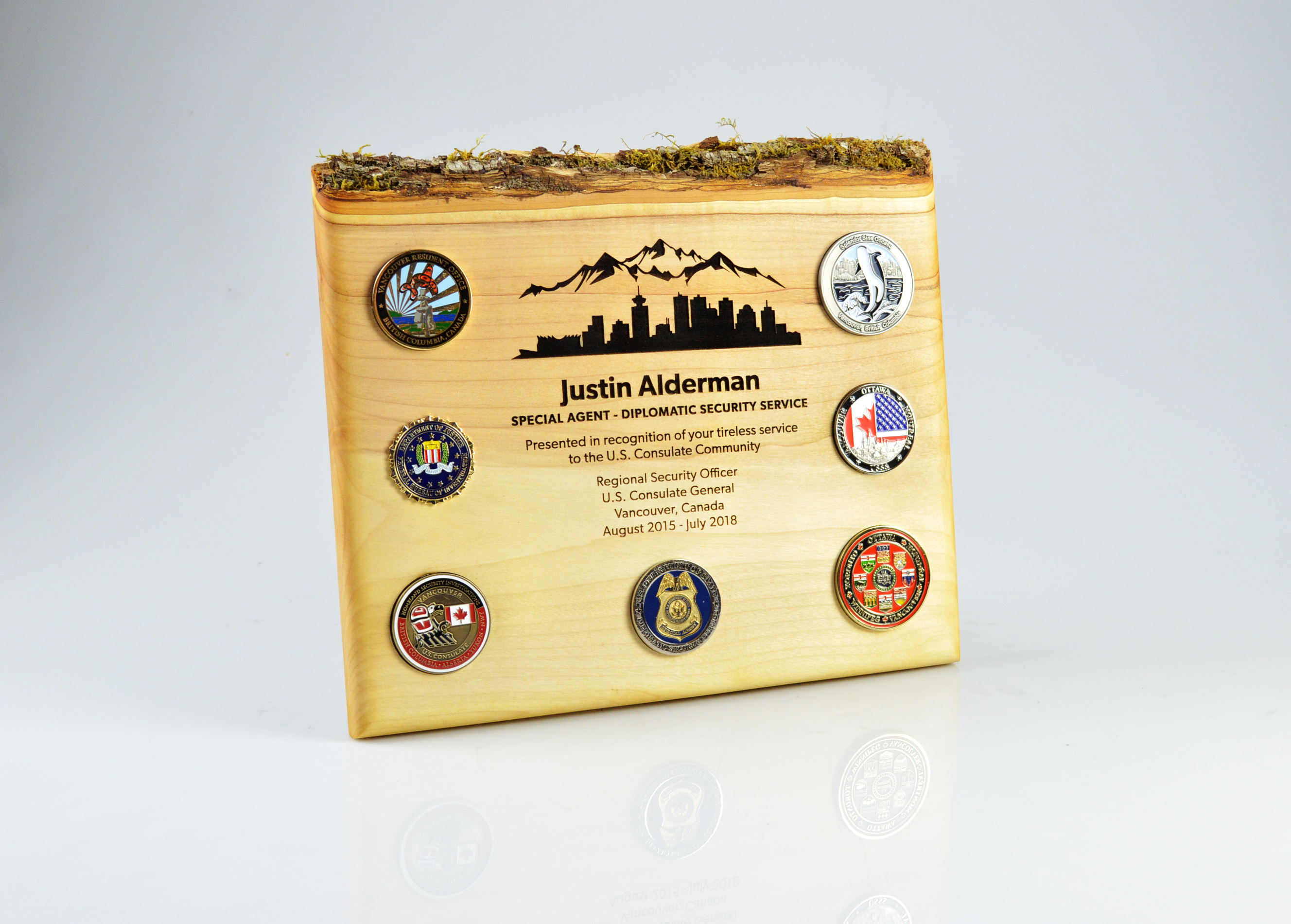 custom-award_sustainable_laser-engraved_salvaged-wood_civil-service_recognition-award_medals_usa