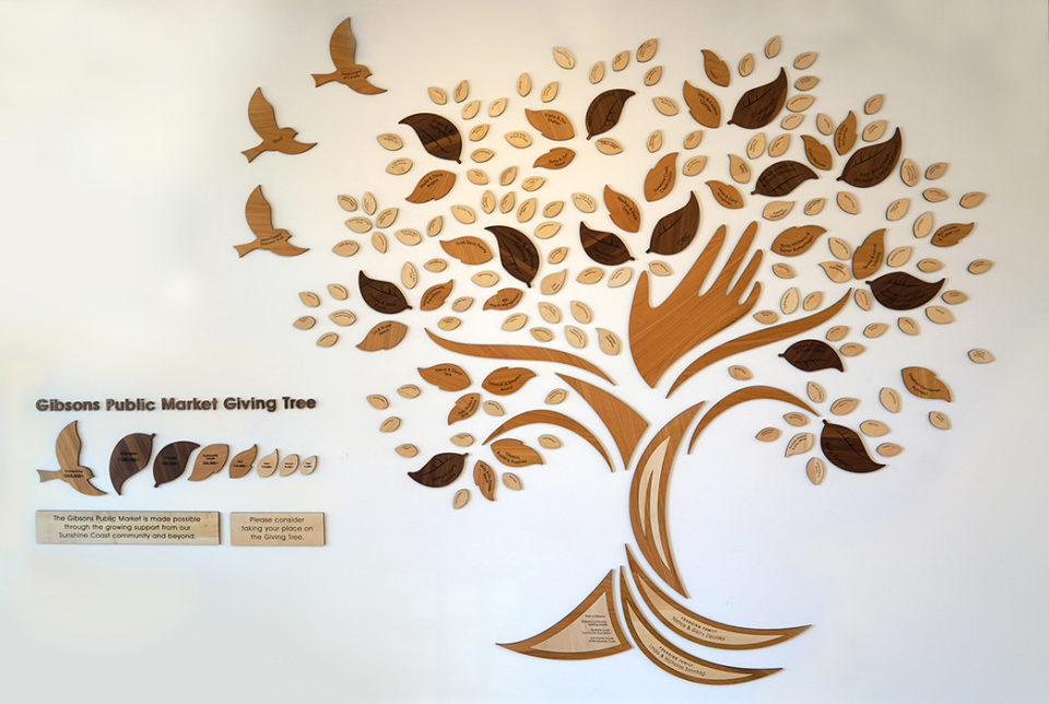 custom-awards_unique-wood_donor-wall-giving-tree_personalized_eco-friendly_non-profit_recogniton-wall_canada