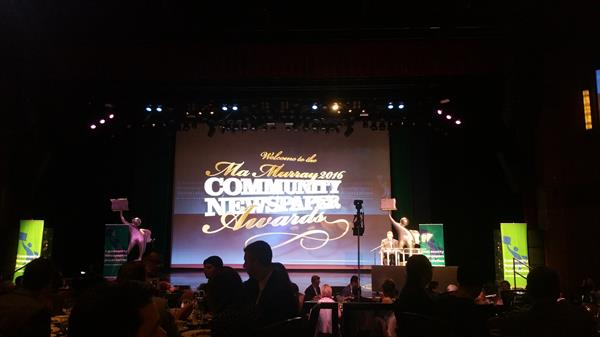 Ma Murray Community Newspapers Awards 2016