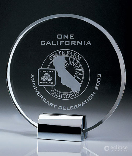 crystal-and-chrome-corporate-personalized-plaques-usa-ovation-award