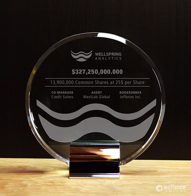 crystal-and-chrome-customized-corporate-trophy-employee-recognition-vancouver-ovation-2
