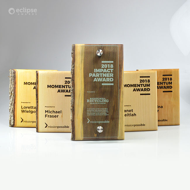 mission-possible-eco-friendly-personalized-wood-plaque-trophy_nonprofit-recognition-award_vancouver