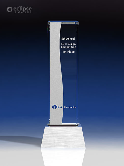 modern-customized-etched-crystal-and-chrome-corporate-recognition-trophy-nova-award-vancouver