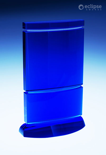 modern-etched-blue-glass-corporate-recognition-trophy-canada-reflection