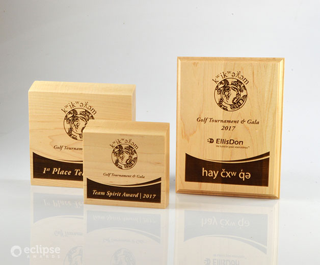 sustainable-eco-friendly-laser-engraved-custom-wood-awards-charity-trophy-canada