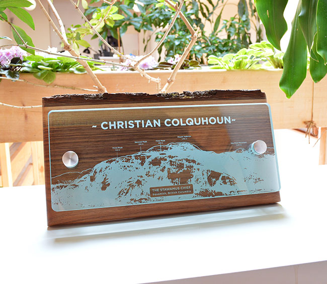 sustainable_eco-friendly-customized-glass-and-wood-wall-plaque_non-profit-trophy-gift_vancouver