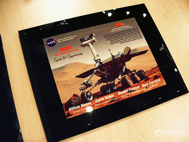unique-customized-wall-plaque-custom-certificate-frame-corporate-award-north-america-nasa