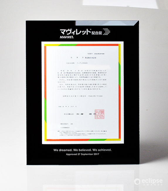 unique-customized-wall-plaque-custom-certificate-frame-corporate-financial-deal-toy-north-america