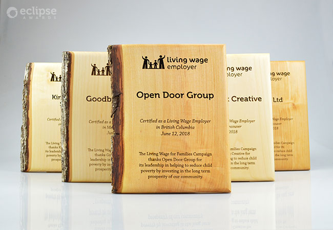 unique-eco-friendly-green-salvaged-wood-wall-plaque_corporate-recogniton-plaque-living-wage-Canada-5