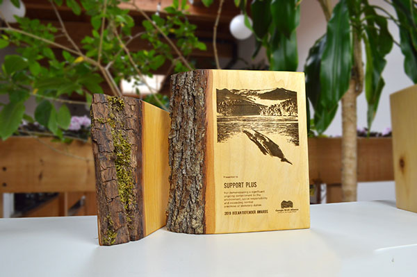 unique-sustainable-laser-engraved-salvaged-wood-nonprofit-recognition-award_BritishColumbia