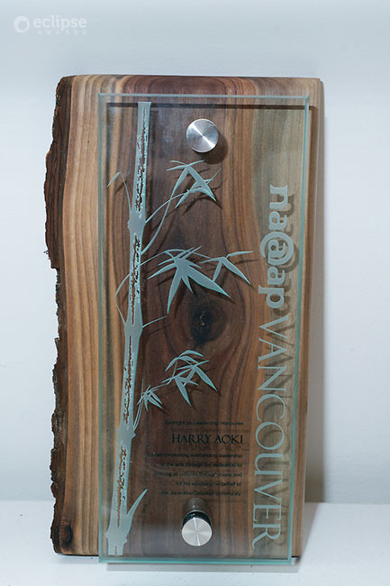 unique_eco-friendly-customized-glass-and-wood-wall-plaque_corporate-recognition-trophy_vancouver